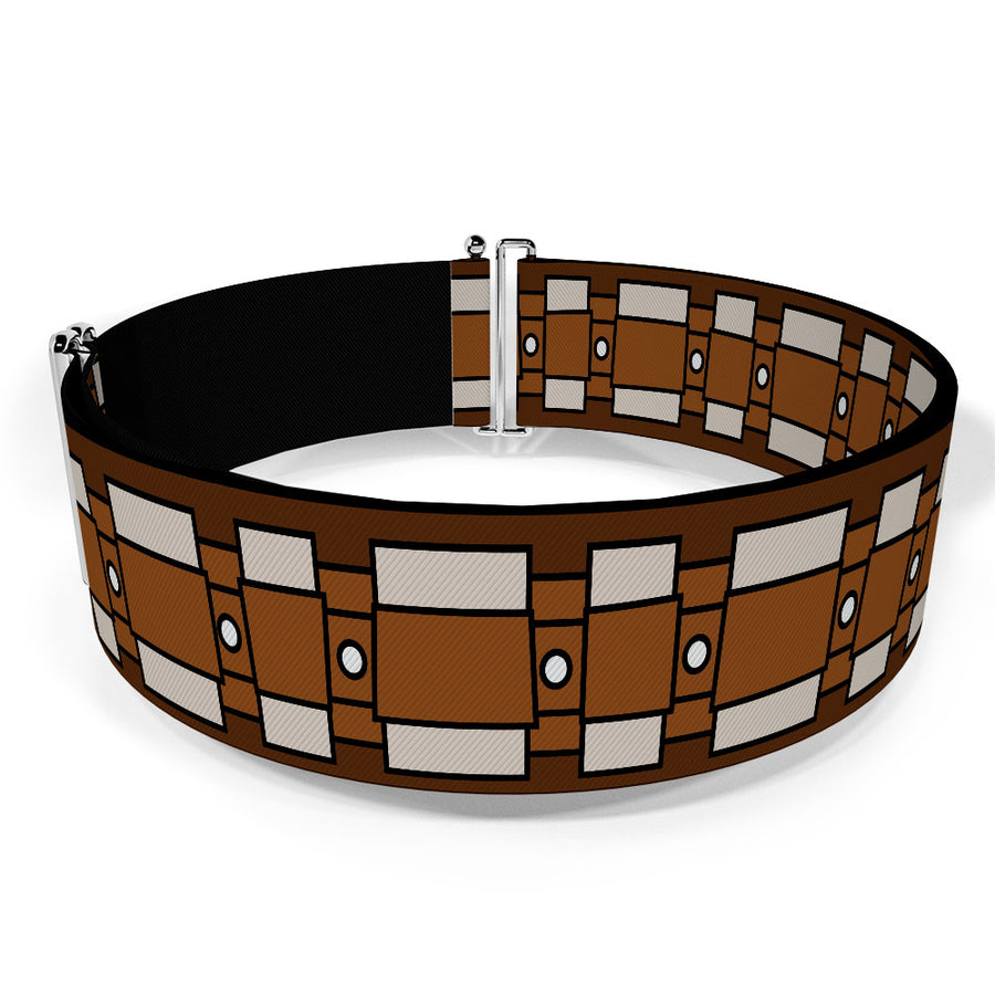 Cinch Waist Belt - Star Wars Chewbacca Bandolier Bounding2 Browns