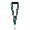 "Lanyard - 1.0"" - Lilo & Stitch 5-Scene Blocks"
