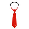 Necktie Standard - The Flash Lightning Icon Monogram Reds