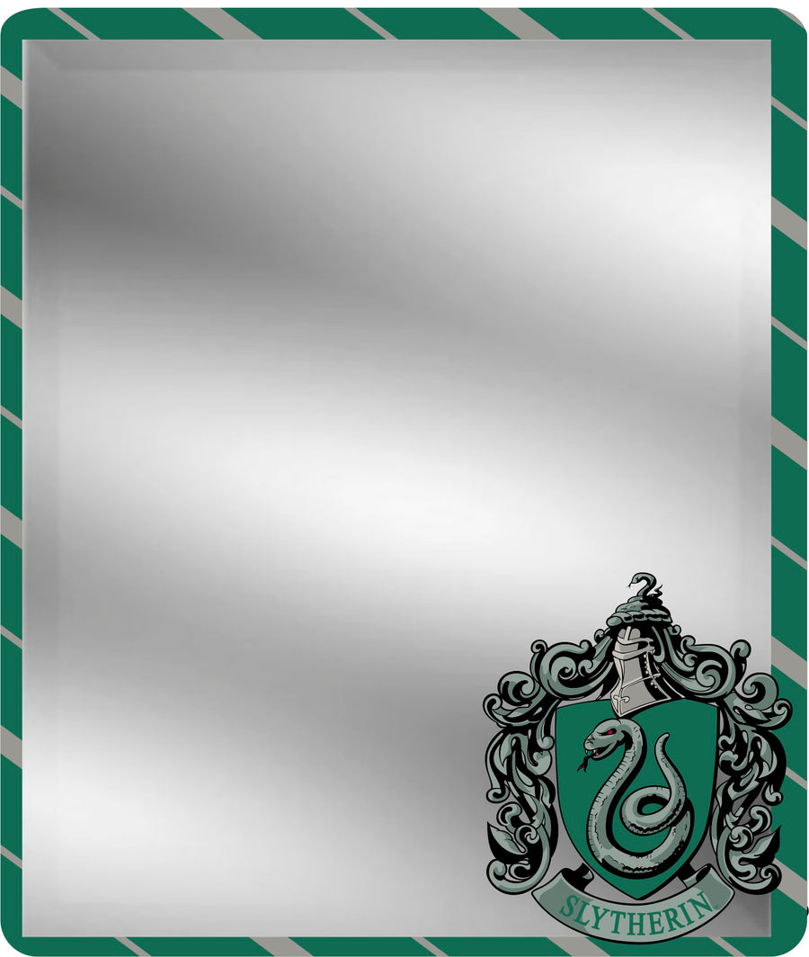 Locker Mirror - Slytherin Crest Stripe4 Green Gray