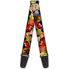 Guitar Strap - Muppets Faces Black