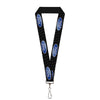 "Lanyard - 1.0"" - Ford Oval REPEAT w Text"
