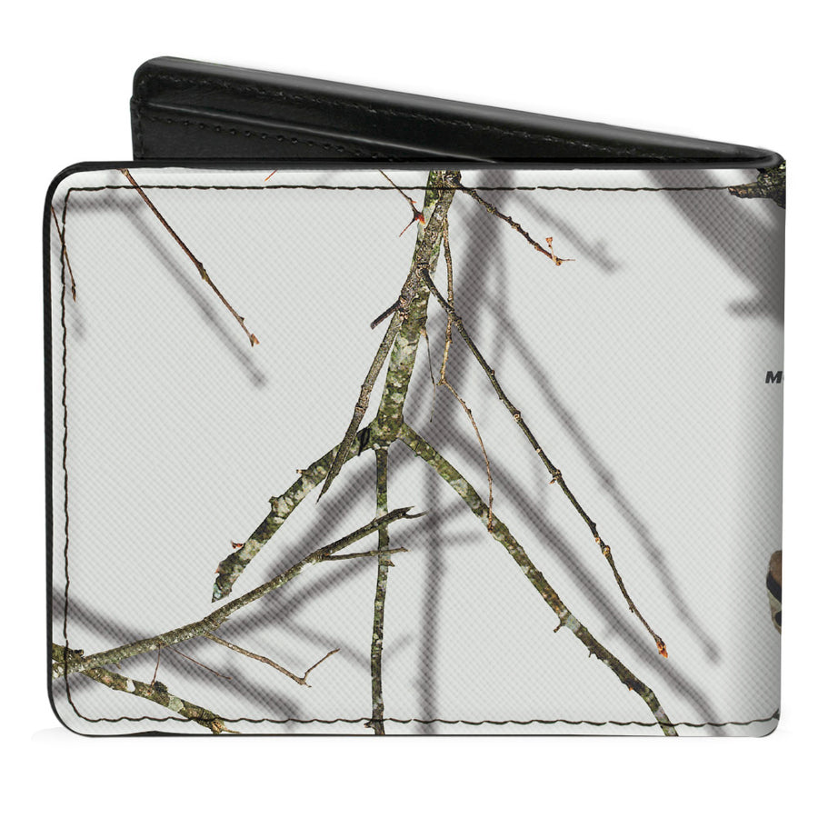 Bi-Fold Wallet - Mossy Oak Country Roots Snowdrift Camo White