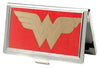 Business Card Holder - SMALL - Wonder Woman GW Red Gold