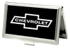 Business Card Holder - SMALL - 1965 CHEVROLET Bowtie FCG Black White