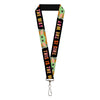"Lanyard - 1.0"" - Star Wars The Child Chibi Pod Pose THIS IS THE WAY Black Multi Color"