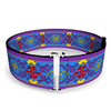 Cinch Waist Belt - Classic Aladdin Magic Carpet Tapestry Blue Purple Gold Red