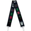 Purse Strap - Star Wars Darth Vader Utility Belt Bounding3 Black Grays Reds Greens