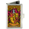 Business Card Holder - SMALL - Harry Potter GRYFFINDOR Crest FCG Gold Burgundy