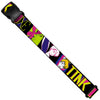Luggage Strap - TINK LUXE Sketch Black Multi Neon