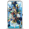 Hinged Wallet - KINGDOM HEARTS II 6-Character Group Pose Clouds Blues