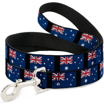 Dog Leash - Australia Flags