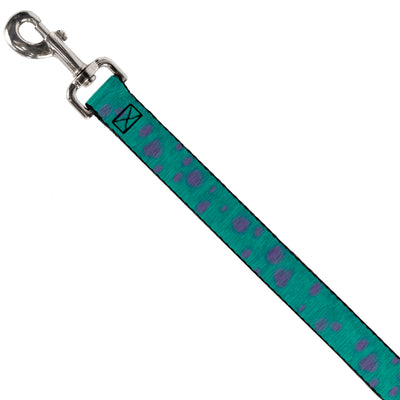 Dog Leash - Monsters Inc. Sulley Bounding Spots Blue/Purple