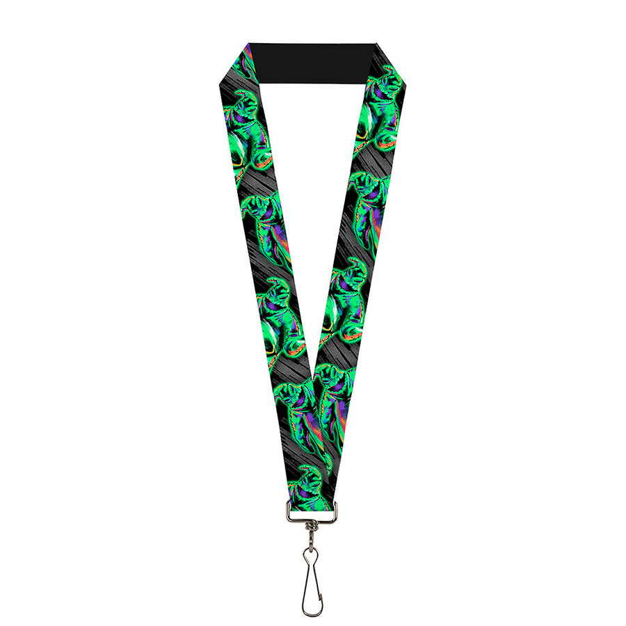 "Lanyard - 1.0"" - Oogie Boogie Pose Electric Glow"