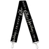 Purse Strap - Friends I'D RATHER BE WATCHING FRIEND THE TELEVISION SERIES Black White Multi Color