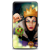 Hinged Wallet - The Evil Queen Poisoned Apple Pose + Diablo Flying