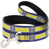 Dog Leash - CHEVROLET SUPER SERVICE Logo/Stripe Blue/White/Yellow