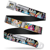Prince & Cinderella Full Color Seatbelt Belt - Cinderella Movie Panels & Quotes Webbing