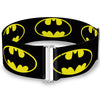 Cinch Waist Belt - Batman Shield Black Yellow