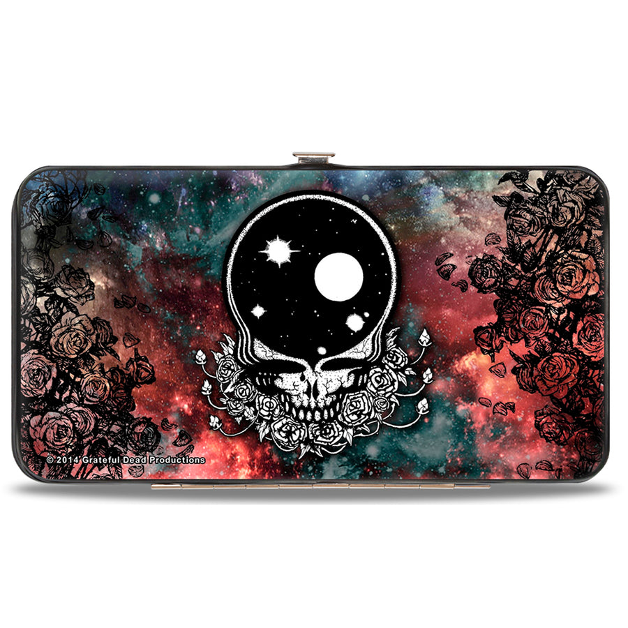 Hinged Wallet - Space Your Face Galaxy