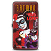 Hinged Wallet - THE BATMAN ADVENTURES MAD LOVE #1 Cover Joker Harley Quinn Poses