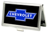 Business Card Holder - SMALL - Chevy Bowtie FCG Black Blue