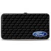 Hinged Wallet - Ford Oval CORNER w Text