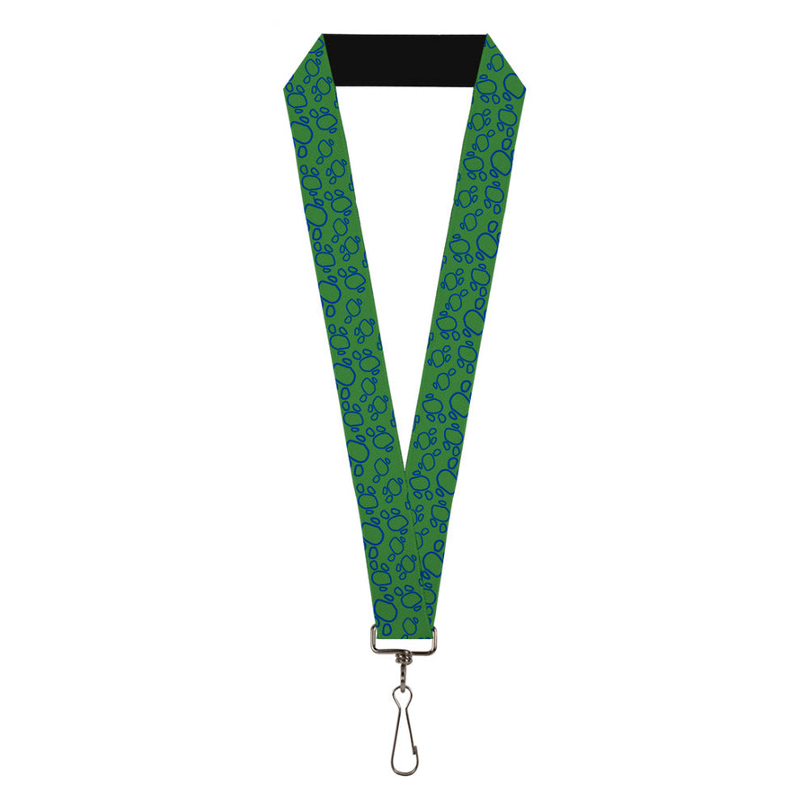"Lanyard - 1.0"" - Toy Story Rex Pose Scales Greens Blue"