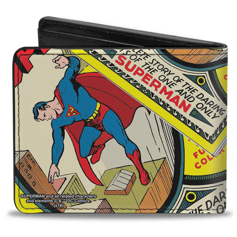 Bi-Fold Wallet - Classic SUPERMAN #1 Flying Cover Pose