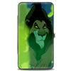 Hinged Wallet - Scar Lurking Pose Smoke Greens