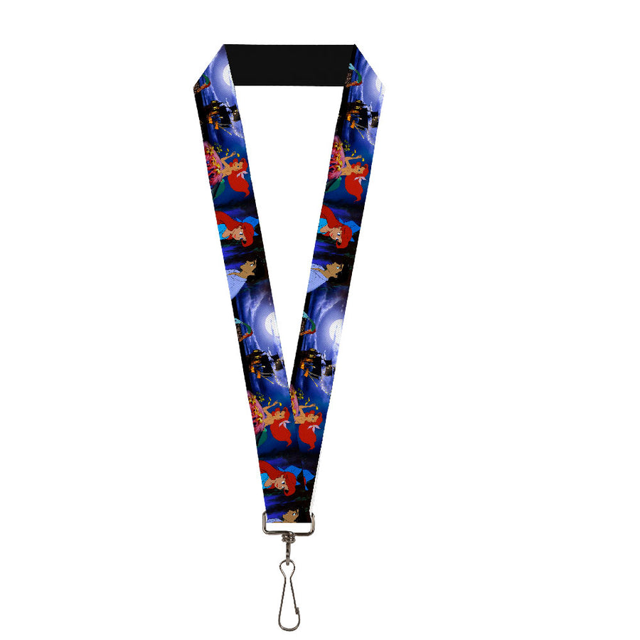 "Lanyard - 1.0"" - The Little Mermaid Ariel & Eric Scenes"