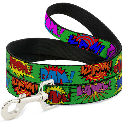Dog Leash - Sound Effects Green/Multi Color