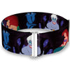 Cinch Waist Belt - The Little Mermaid Ariel & Ursula Scenes