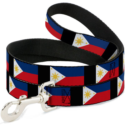 Dog Leash - Philippines Flags