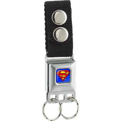 Keychain - Superman Full Color Blue
