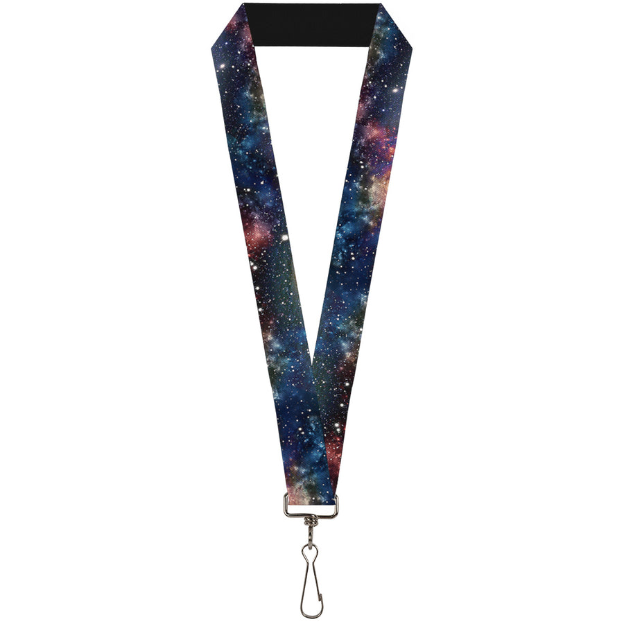 "Lanyard - 1.0"" - Space Dust Collage"