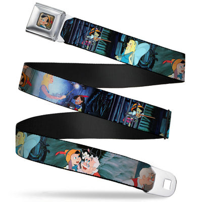 Pinochio Puppet Full Color Tan Seatbelt Belt - PINOCCHIO/Jiminy Cricket Workshop Tools Webbing