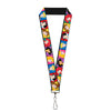 "Lanyard - 1.0"" - Disney Princess Blocks"