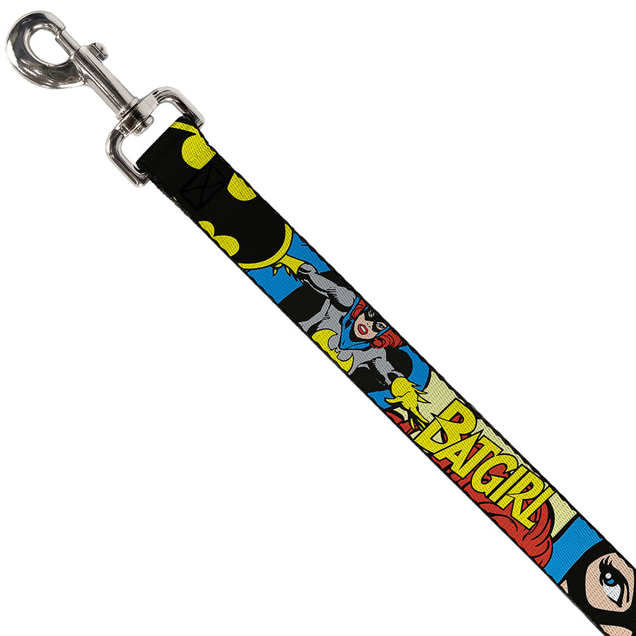 Dog Leash - BATGIRL in Action w/Face CLOSE-UP