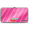 Hinged Wallet - DC SUPERHERO GIRLS 10-Character Group Pose Stars & Stripes Pinks