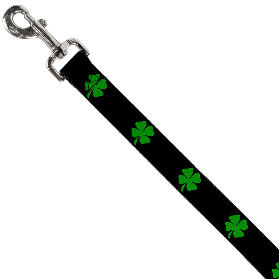 Dog Leash - St. Pat's Black/Green