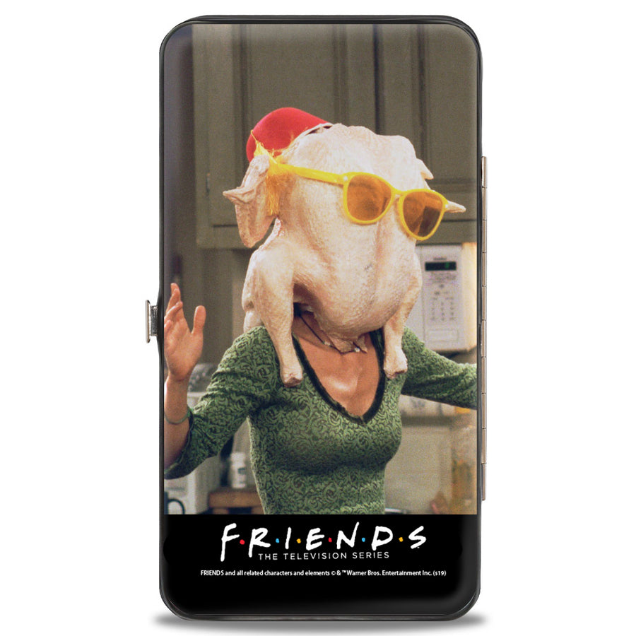 Hinged Wallet - FRIENDS Monica's Turkey Head + Chandler Vivid Pose