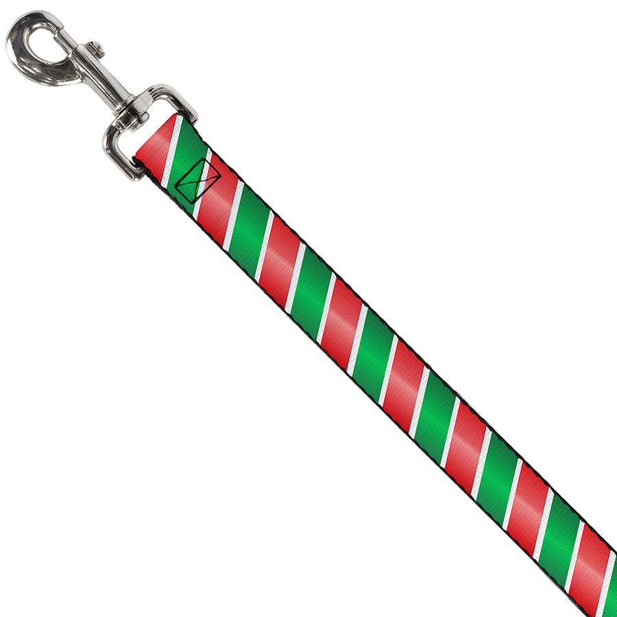 Dog Leash - Candy Cane4 White/Red/Green