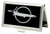 Business Card Holder - SMALL - Barracuda Emblem FCG Black Silver