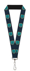 "Lanyard - 1.0"" - APOLLO 8 Orbit Blues Orange White"