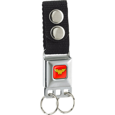 Keychain - Wonder Woman Logo Full Color Red