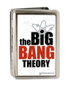 Business Card Holder - LARGE - THE BIG BANG THEORY FCG White Black Red