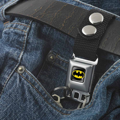 Keychain - Batman Full Color Black Yellow