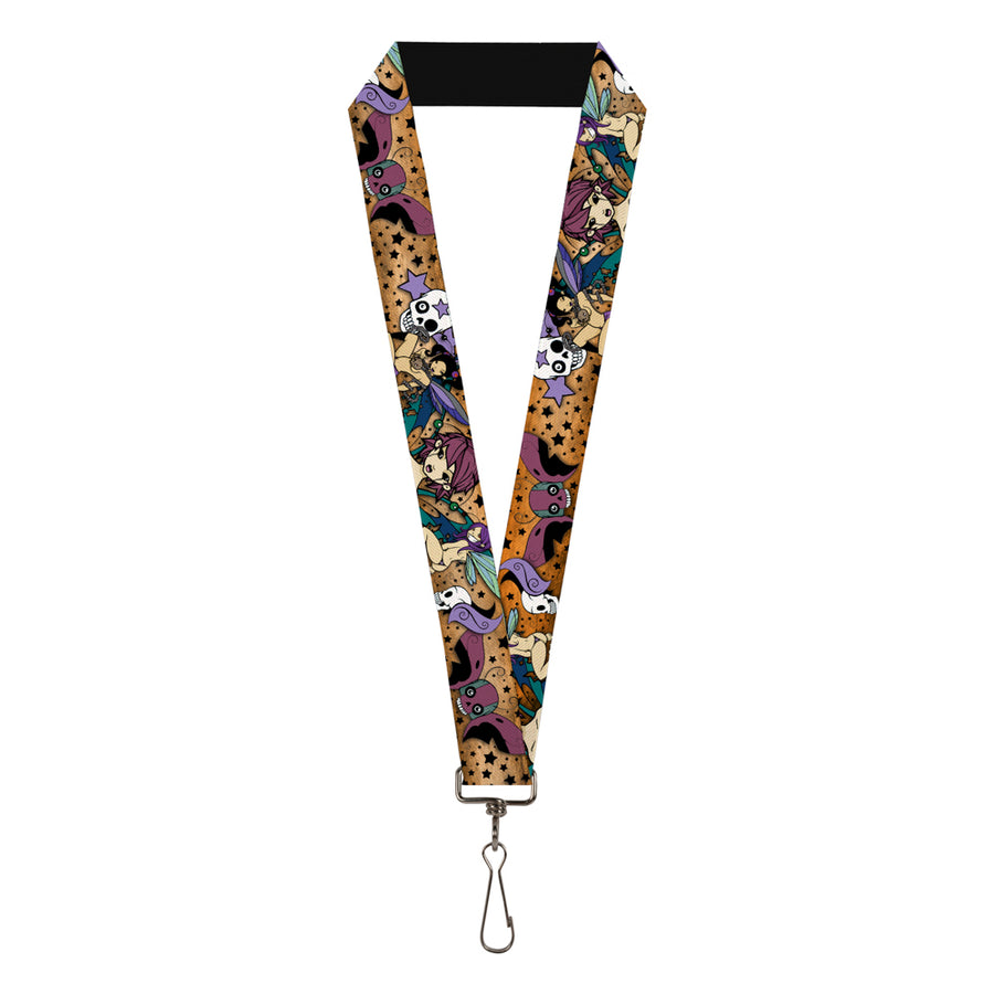 "Lanyard - 1.0"" - Tattoo Johnny-Fairy Gothic"