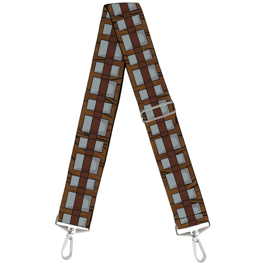 Purse Strap - Star Wars Chewbacca Bandolier Bounding Browns Gray